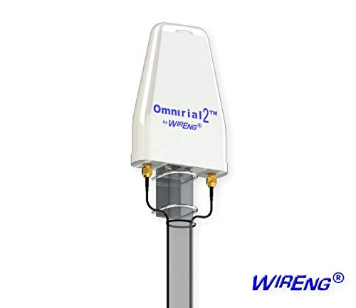 Omnirial2 True MIMO ±45° Antenna for Huawei LTE CPE B593 4G Dual Omni