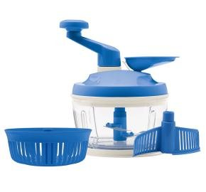 Tupperware Quick Chef Pro System in Raindrop/Blue