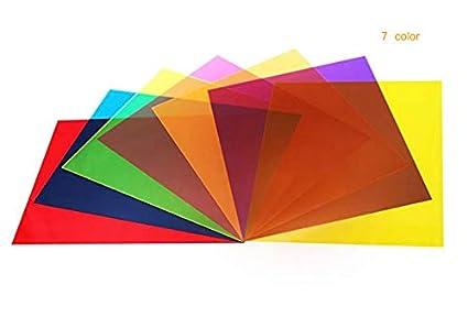 Amazon.com : Best starloop 21 Pack Light Gels Colored Overlays ...