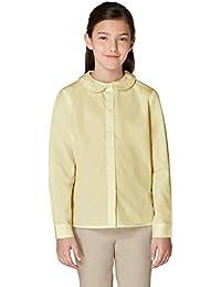 Girls' Long Sleeve Peter Pan Collar Blouse