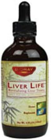 BioRay Inc., Liver Life, Revitalizing Liver Tonic, 4 fl oz (118 ml) - 2pc