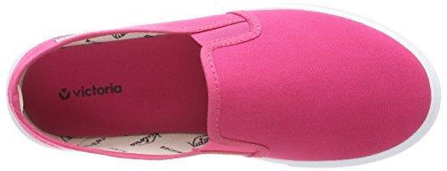 victoria Pink Fresa on Lona Erwachsene Unisex Sneakers Slip YqzgrY