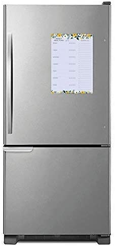 Minimalmart Weekly Magnetic Meal Planner Notepad - Food Planning Organizer and Grocery List Pad, Premium 52 Pages, with Tear Away Perforated Shopping List 4