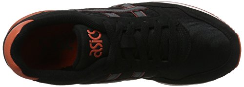 atlanis Basses Sneakers Mixte gris Adulte Asics Noir Gel 54wxnEOqIt
