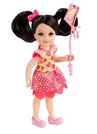 Madison w/ Pink Kite: Barbie Chelsea & Friends Summer Dreamhouse Collection ~5.5