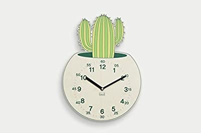 BEZIT Non-Ticking, Silent 11-Inch Wall Clock – Decorative, Modern, Clean, Cute, Kid-Friendly Design for Indoor, Office, Home, Baby Room