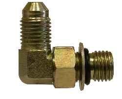 7//8-14 JIC Thread x 3//4-16 O-Ring Thread Midland 6801-NWO-10-8 Hydraulic Steel SAE Elbow Connector