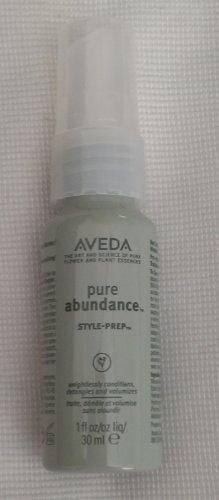 Aveda Pure Abundance Style Prep Infuses Hair With All Day We