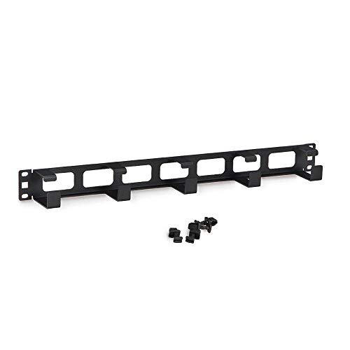 (GOWOS Rackmount 5X D Ring Cable Manager, 1U)