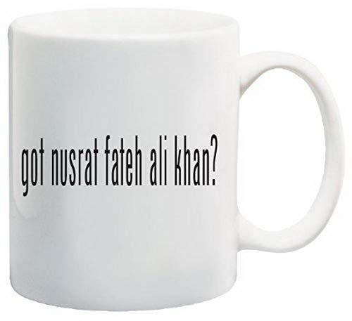 Cute Coffee Cups Got Nusrat Fateh Ali Khan? Coffee Mug 11 Oz Souvenir, Novelty Wide Coffee Mugs By Ugtell (Best Of Nusrat Fateh)