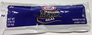 Kraft Real Mayonnaise Packets, 7/16 oz, 25 ct