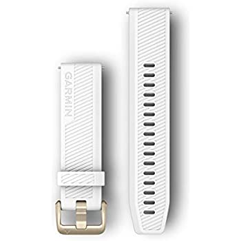 Amazon.com: Garmin Quick Release Band, 20mm, White with