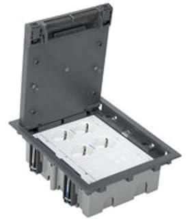 Simon 52006301-030 - Kit Caja De Suelo Simon 500 Cima 3 Módulos Con 2 Bases Doble Schuko…
