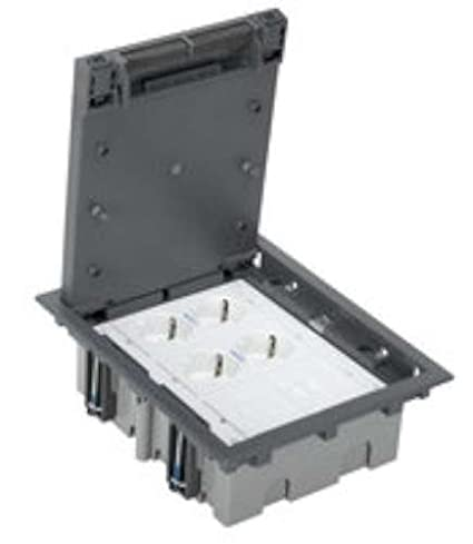 Simon 52006301-030 - Kit Caja De Suelo Simon 500 Cima 3 Módulos Con 2