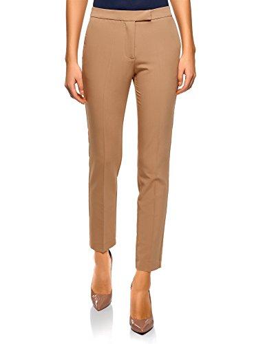 Stretti Classici 3500n Beige Collection Pantaloni Donna Oodji xnqIHpw