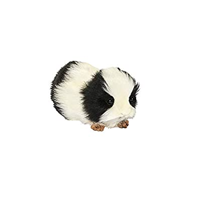 HANSA Guinea Pig Plush, Black/White: Toys & Games