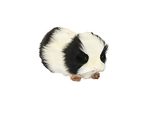 - Hansa Guinea Pig Plush, Black/White