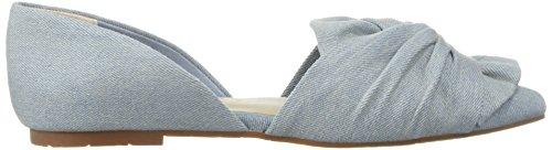 Cone Footwear Ballet Light Flat Women's Denim Blue BC Snow CwFOqCt