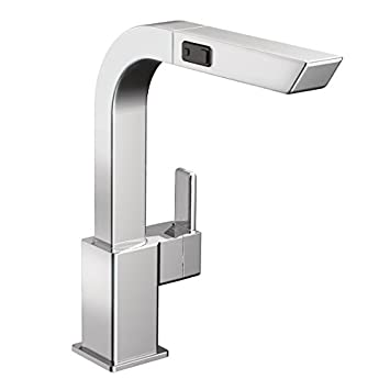 Moen S7597c 90 Degree One Handle High Arc Pullout Kitchen Faucet
