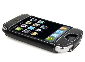 Techstyle Classic Leather Iphone Case (Speck TechStyle Classic Leather Case for iPhone 1G)