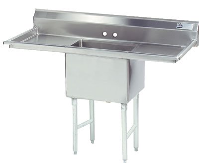 Bowl Scullery Sink (Scullery Sink, Single Bowl, 24x 24)