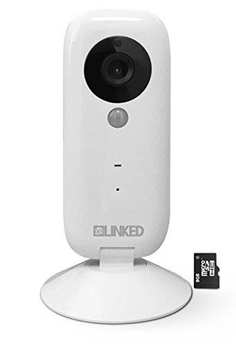 X10 LINKED LI2 Wireless IP Camera, Baby Monitor and Home Security Cam, 720P HD, P2P Network Camera, Video...
