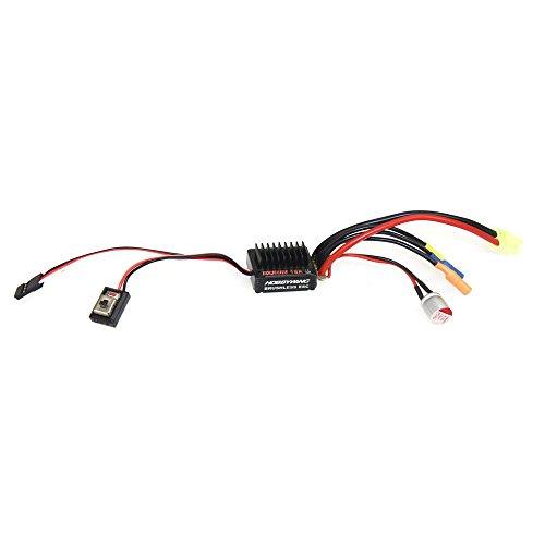Speed Controller V2 2-3S Lipo Brushless ESC BEC Output 6V/1.5A for 1/16 1/18 RC Car ()