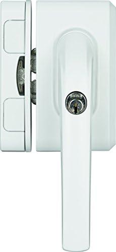 ABUS Fensterschloss FO500N B braun AL0125 gleichschlie/ßend 71323
