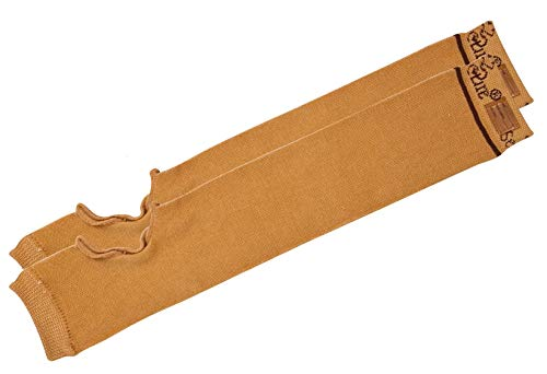 "SecureSleeves (1 Pair) Geri Skin Protection Arm Sleeves, X-Large, Brown - Protects Sensitive Skin - 18.5""-19"" x 4.0"""