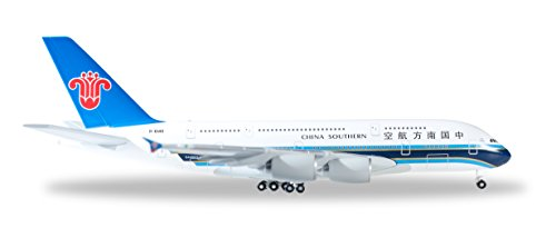 - Herpa 520928-China Southern Airlines Airbus A380, Vehicle