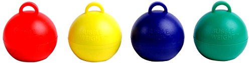 Bubble Weight Balloon Weight Primary Plus Asst, 35 g, 10 Piece