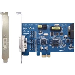 GeoVision GV-800 Video Capture Card - Functions: Video Capturing, Video Recording - PCI Express - 720 x 576 - NTSC, PAL - VGA - Yes - Plug-in Card - GV800-8