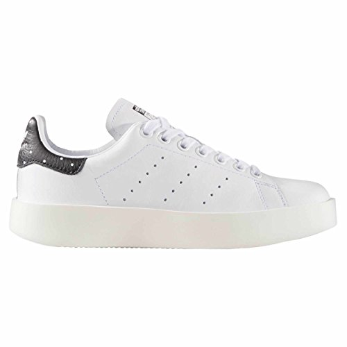 Adidas Originals Women's Stan Smith Bold zapatillas negras Plataforma cuero para Mujer zake (36 2/3 EU - 4UK, Whithe)