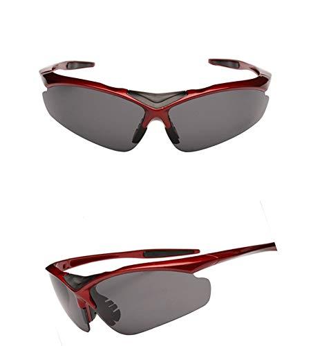 a Aire Montañismo Hombre Equitación al HUBINGRONG de Gafas Espejo Color de  Mujer Marco Deportes Pesca ... 5096ad093189