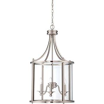 Amazon.com: Craftmade 39535-abz Carlton 5 luz colgante ...