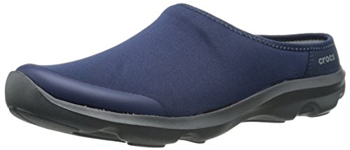 0satyamule Crocs Graphite Donna Ciabatte Navy Blu Duetbsdy2 4xw6qw5TH