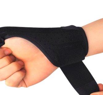 Muñequera con soporte de dedo pulgar ortopedica. Ferula de muñeca. Ferula para dedo pulgar deportiva. Ayuda en artrosis de...