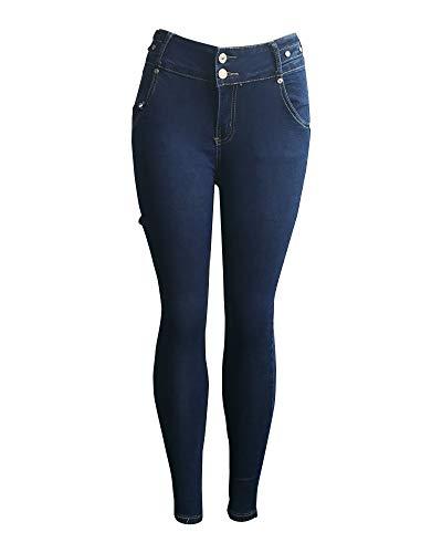 Femme Slim Denim Image6 Pantalons Jeans Taille Quge Comme Fesses Haute Levage des qd6px7W