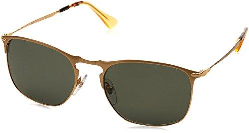 Persol Mens Sunglasses Gold/Green Metal - Polarized - - Sunglasses Aviator Persol Amazon