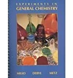 Experiments in Chemistry, Metz, Clyde R. and Milio, Frank R., 0030534887