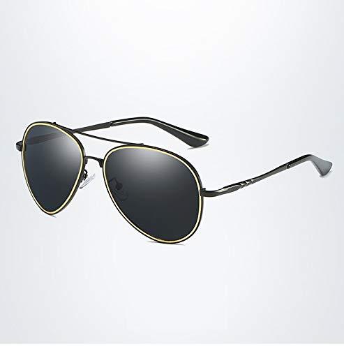 à Miroir UV400 HD Mode Hommes Yao de Lunettes Conduite à 1 pour Grenouille Soleil polarisées Classique Alliage Protection Lunettes de la de Soleil Za5aSpqn