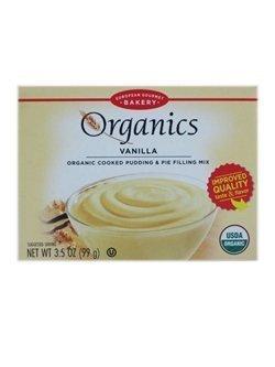 European Gourmet Bakery: Organics Vanilla Cooked Pudding & Pie Filling Mix (1 X 3.5 Oz) by European Gourmet Bakery