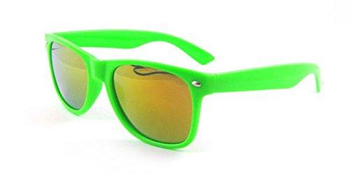 Lunettes Wf17 Wayfarer Shop de ASVP UV400 Mirror Green ® soleil classique C1wZn5Rq