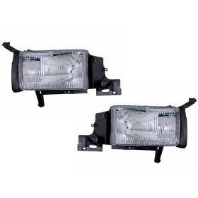 Headlights Depot Replacement for Dodge Ram Truck New Headlights Set Headlamps Pair w/Headlight ()