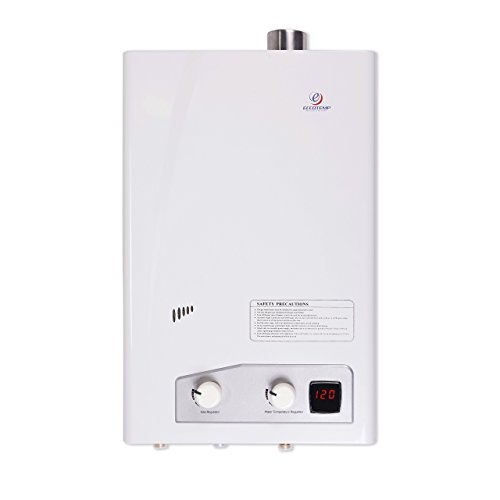 (Eccotemp fvi12-NG FVI-12 Natural Gas, 3.5 GPM, High Capacity Tankless Water Heater, White)