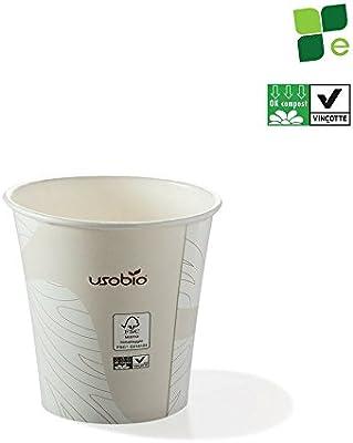 100Pz vasos desechables   Taza de café espresso 120 ml ...