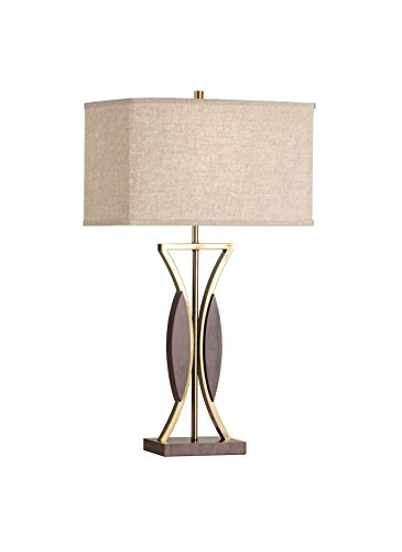 Accent Table Lamp Nova Lighting - Nova Lighting Clessidra Contemporary Table Lamp, Rose Gold