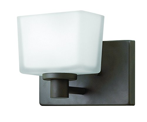 - Hinkley 5020KZ Transitional One Light Bath from Taylor collection in Bronze/Darkfinish,