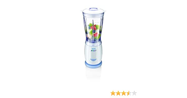 Philips Avent SCF 860/20 - Mini batidora de vaso con vasos individuales para conservar la papilla (6 vasos modelo VIA): Amazon.es: Bebé
