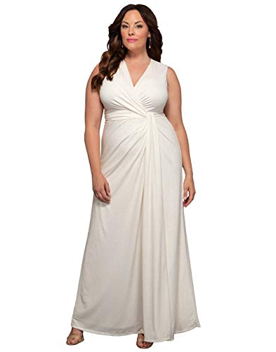 Kiyonna Women's Plus Size Gilded by Moonlight Wedding Gown
